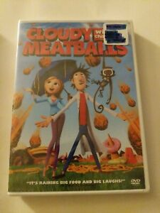Cloudy With a Chance of Meatballs (DVD, 2010) brand new in Package