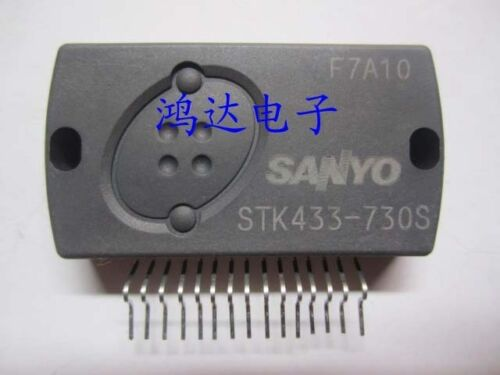 THD = 1.0/% STK433-730S Encapsulation:SIP-ZIP,AF Power Amplifier 5W 5W min