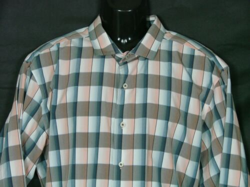 Tommy Bahama Mens Button Up Shirt  XL Cotton Long