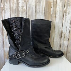 6636db93bd8 Details about Vince Camuto Walt Women's Side Zip Jewel Studded Ankle Boots  Size 7.5 Black $180