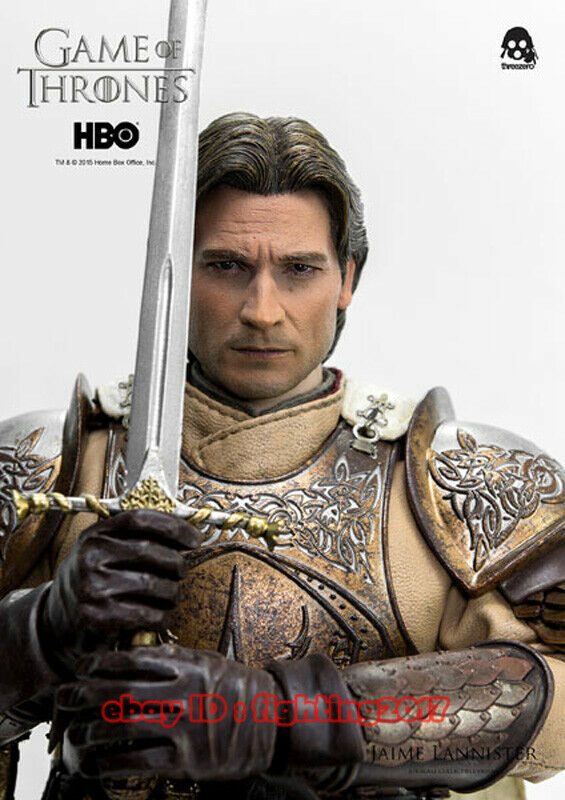 Threezero 1 6 Scale Scale Scale Game Of Thrones Kingslayer Jaime Lannister Action Figure 65353a