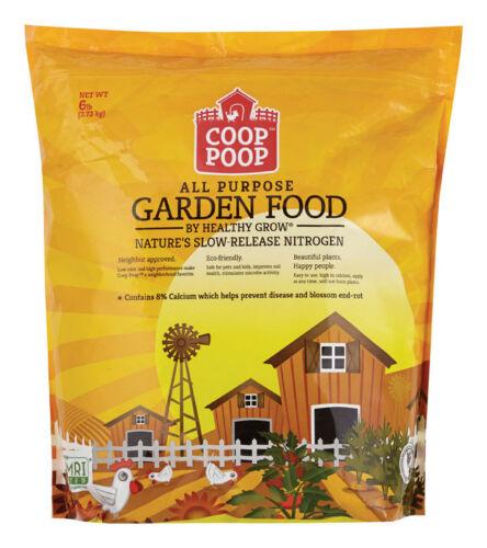 Coop Poop  Garden Food  Organic Chicken  Composted Manure  6 lb.