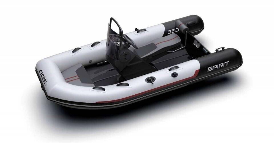 Gummibåd, Aqua Spirit 350CS - 20 HK Yamaha, årg. 2020