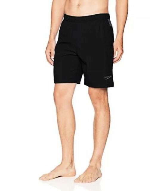589824181f Speedo Men's Tech Volley Water Shorts Black/grey Size 34 M for sale ...