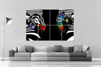 Daft Punk Special Miror Dj Music Wall Art Poster Grand Format A0 Large Print