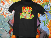 Bad Brains logo Shirt Black Flag Nyhc Punk Cro Mags Dri Void Youth Of Today