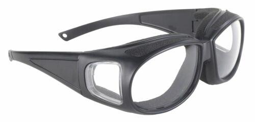Kickstart Defender Sunglasses Black Frame//Clear Lens