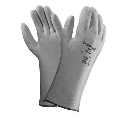 1-12 Paar Ansell Crusader Flex 42-474 Hitzeschutzhandschuhe Bis 180 °c Gr.8 Modische Muster