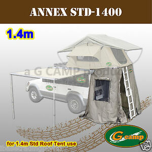 G-CAMP-ANNEX-FOR-1-4M-STD-ROOF-TOP-TENT-CAMPER-TRAILER-4WD-4X4-CAMPING-CAR-RACK