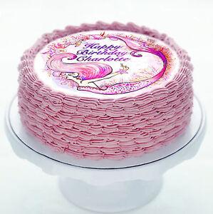 Surprising Mermaid Seahorse Under The Sea Cake Decoration Icing Sheet Funny Birthday Cards Online Elaedamsfinfo