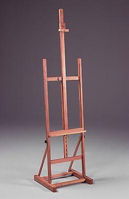 Adjustable H-Frame Wood Studio | Artist Painting & Display Easel | Positive Tilt