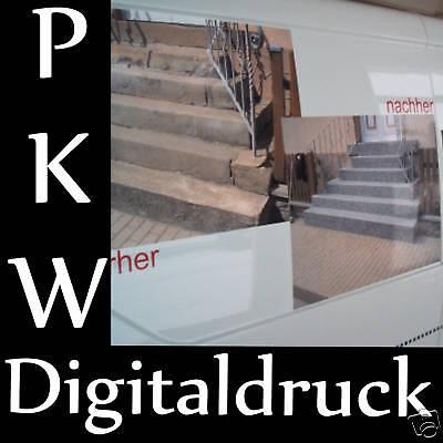 Digitaldruck Wetterfest Uv Schutz Pkw -transporter Aufkleber Laminiert 100cm