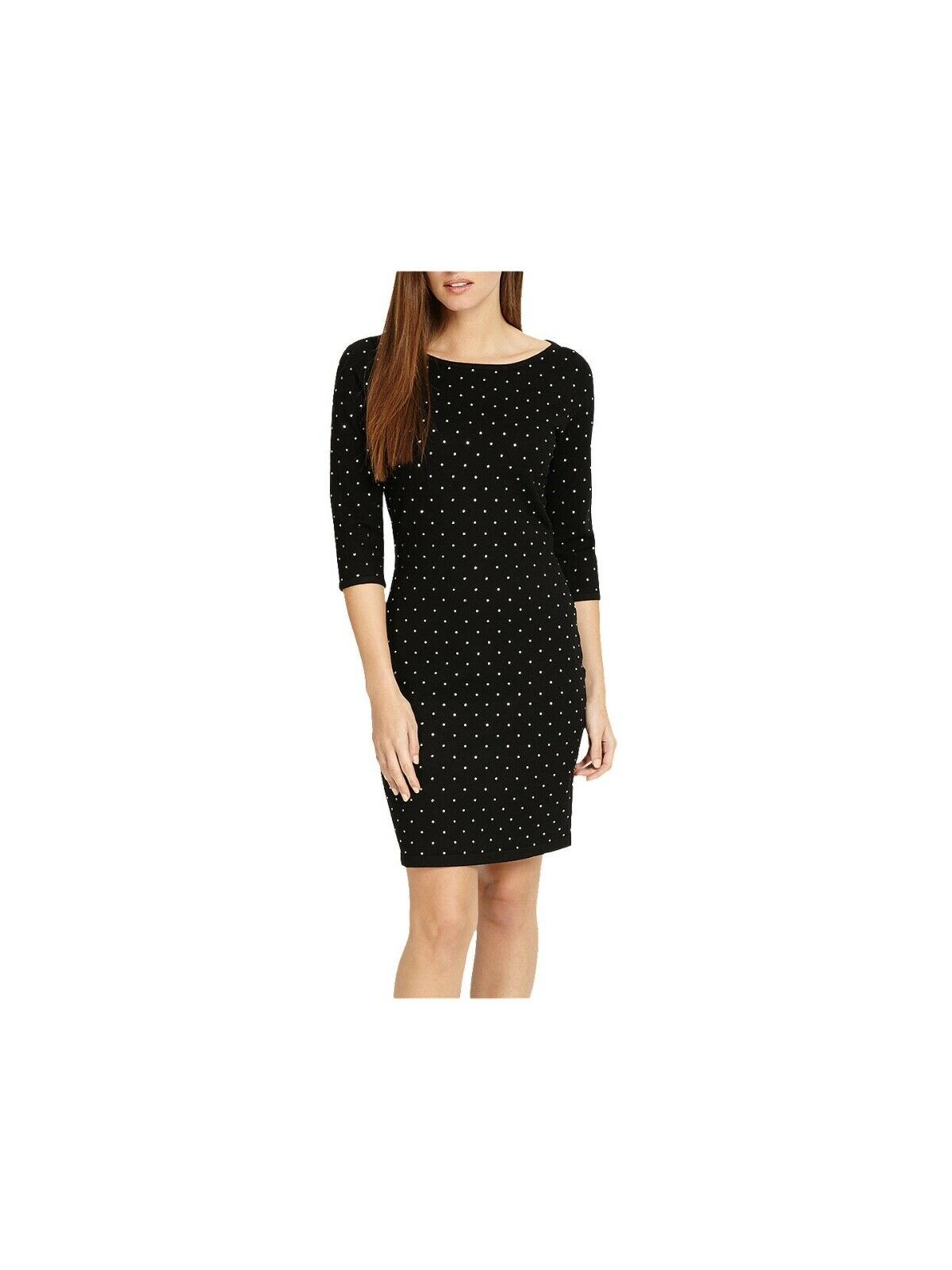 OTTO Phase Helene Fix Fix Fix Heat Shift Dress, Nero fd3fc4