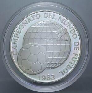 Panama-Proof-5-BALBOAS-1982-AG-FIFA-CHAMPIONSHIP-Espana-039-82-KM-77-mintage-9446