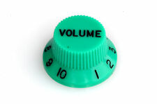"Potiknopf ""Volume"" Green passend für Strat® US/CTS Potis & Ibanez JEM/RG Series"