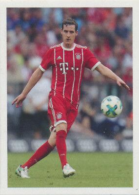 Bam1718 - Sticker 115 - Sebastian Rudy - Panini Fc Bayern München 2017/18 Vertrieb Von QualitäTssicherung