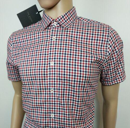 L Baker Shirt New Mens Uk Gingham 42