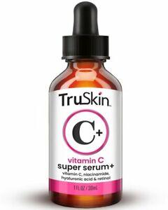 TruSkin Vitamin C-Plus Super Serum, Anti Aging Anti-Wrinkle Facial Serum