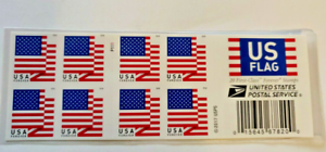 USPS US Flag Forever Stamps - One booklet of 20