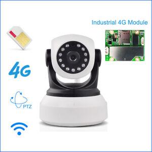 Details about 1080P 3G 4G SIM Card IP Camera Wireless Cam PTZ Pan Tilt GSM  P2P Motion Detect