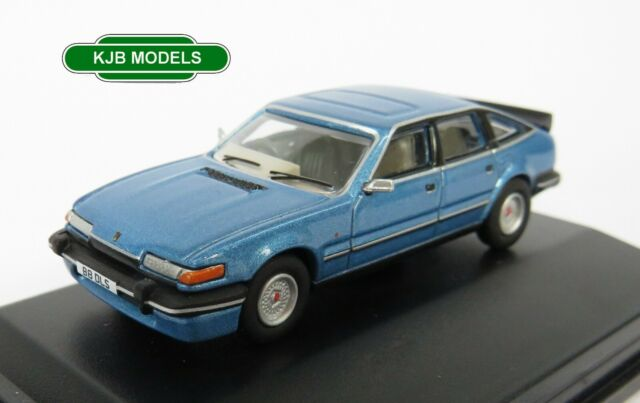 BNIB OO GAUGE OXFORD 1:76 76SDV003 Rover SD1 3500 Vitesse Moonraker Blue Car