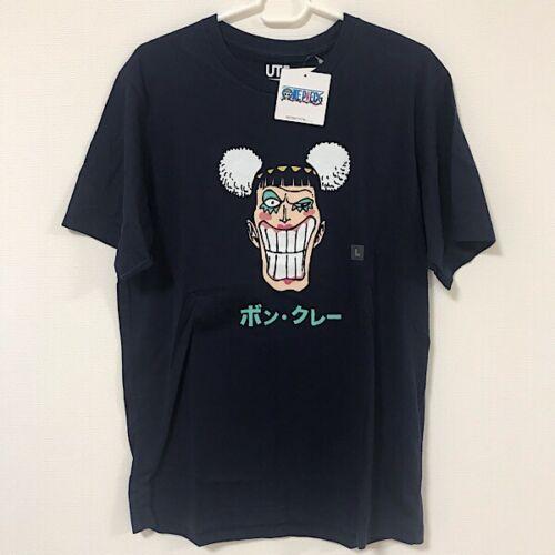 UNIQLO One Piece Mr.2 Bon-chan Bon Clay UT MEN/'S Graphic T-Shirt Navy S-M Japan