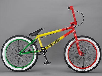 Mafiabikes KUSH 2 20 inch bmx bike boys girls Mafia Rasta RRP £179