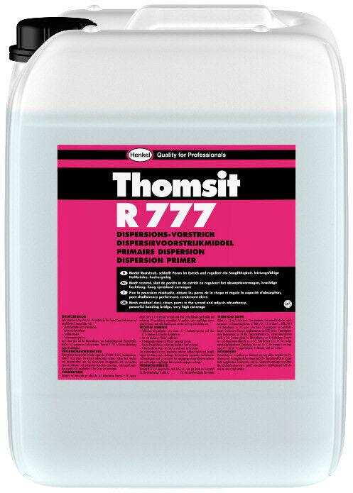 Thomsit R 777 Dispersionsvorstrich 10 kg -Schließt Poren,reguliert Saugfähigkeit