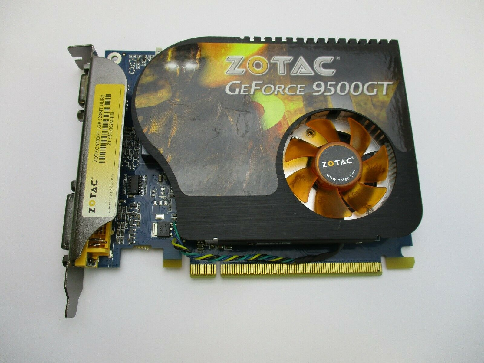Zotac Nvidia Geforce 9500 Gt Zt95tek2mfsl 1gb Gddr2 Sdram Pci Express X16 0853505002099 For Sale Online