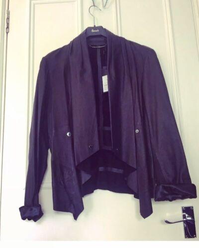 Jacket David New Black Waterfall 399 Lawrence Aud Leather 14 RfwFq