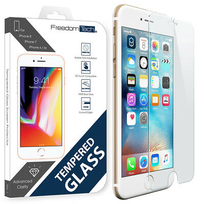 New Premium Tempered Glass Screen Protector Film For iPhone 7 iPhone 6s iPhone 6