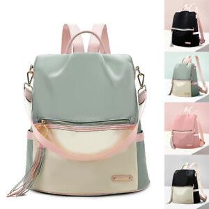 Convertible-Water-Resistant-Backpack-Rucksack-Purse-Shoulder-Bag-Hobo-Anti-Theft