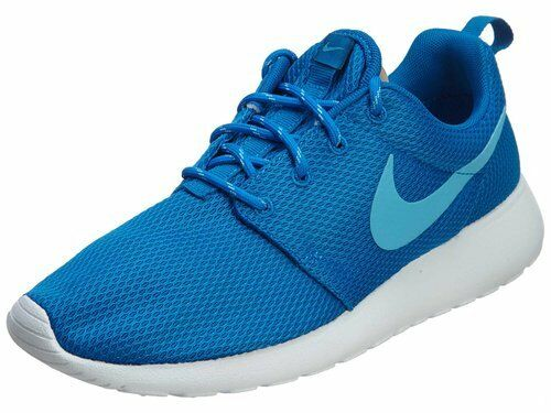 NIKE RUNNING ROSHE ONE CASUAL WOMEN's RUNNING NIKE MESH ELECTRIC Blau - CLEAR WATER - Weiß 1cf693