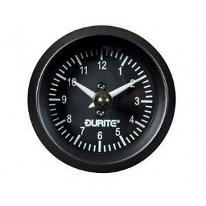 Land-Rover-Series-1-2-2a-3-Durite-Dash-Panel-2-034-Auxiliary-Analogue-Clock-Gauge
