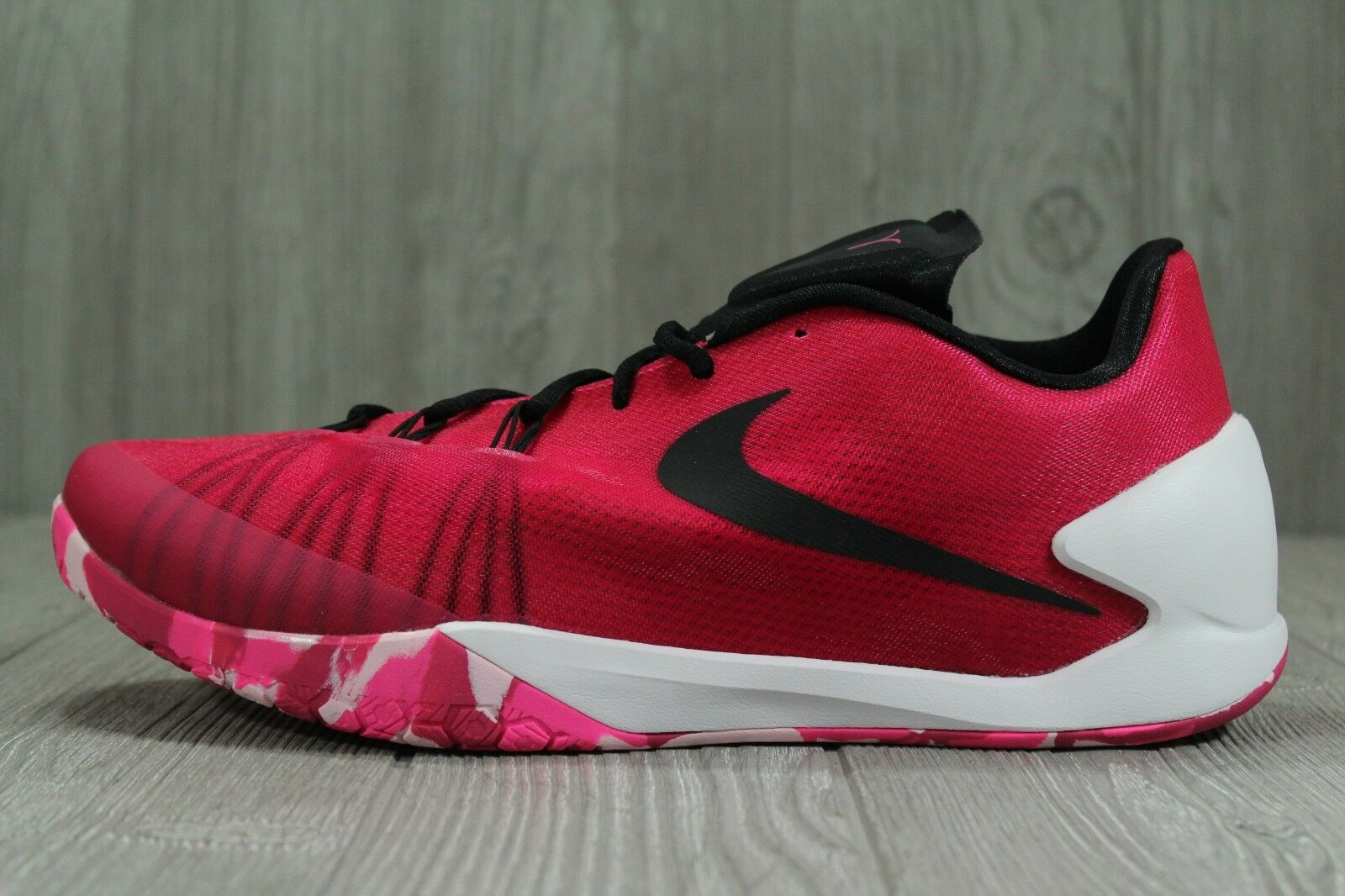 35 RARE Nike HyperChase BCA Harden Breast Cancer Basketball shoes 13 705363-602