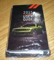 2015 Dodge Challenger User Guide Owners Manual Set 15 Srt 392 Hellcat +case