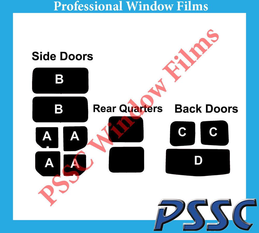 PSSC Pre Cut Rear Car Window Films - Renault Trafic 2002 to 2006