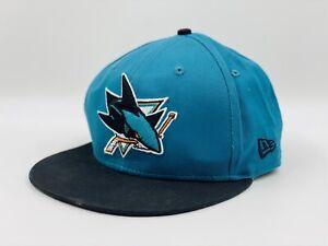 San-Jose-Sharks-NHL-Hockey-New-Era-9Fifty-Snapback-Hat-Cap
