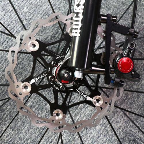 MTB Bike 160//180//203mm Floating Disc Brake Rotor 180//203mm Post Mount Adapter UK