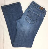 X2 women's slim w10 jeans size 29 x 30 low rise boot cut excellent condition