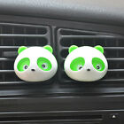 2PCS Lovely Pandas Air Freshener Perfume Fragrance Diffuser for Auto Car Truck