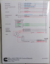 cummins laminated isle with cm2150 control module wiring diagram