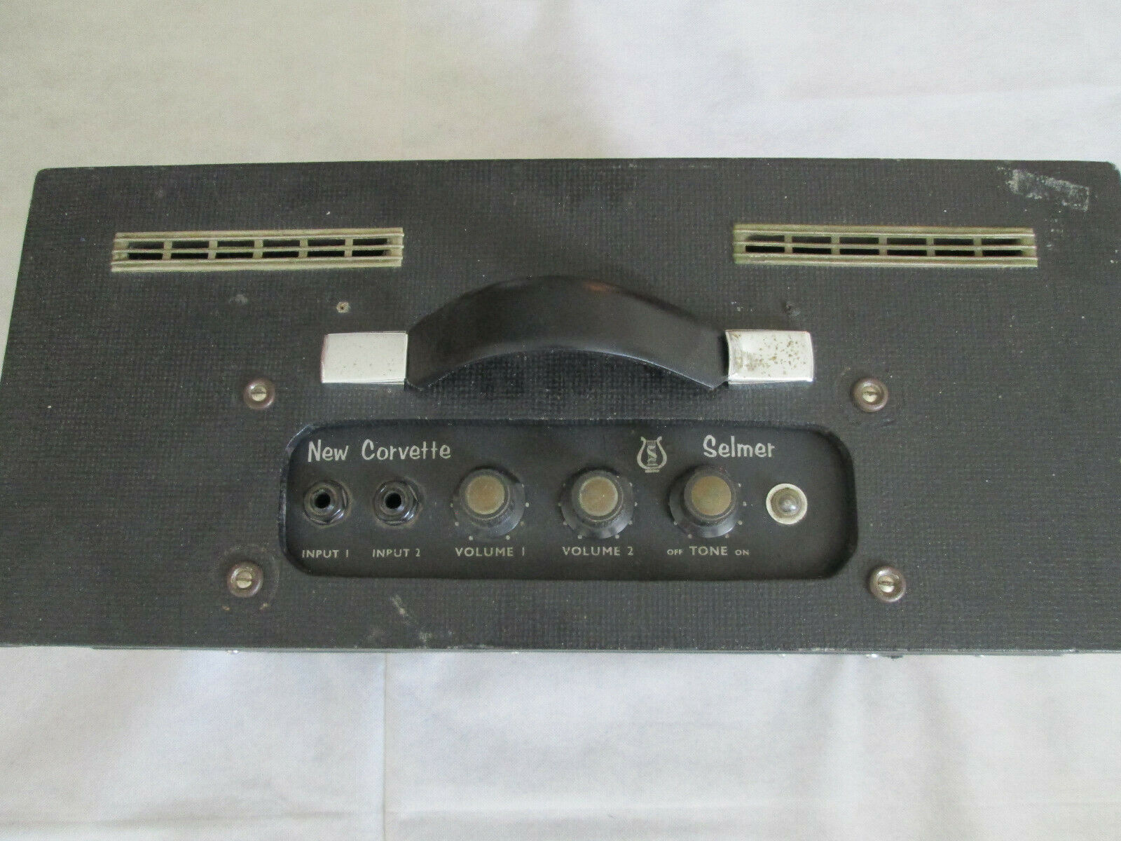 Selmer Corvette 6 valve amplifier - early to mid sixties - fully working.