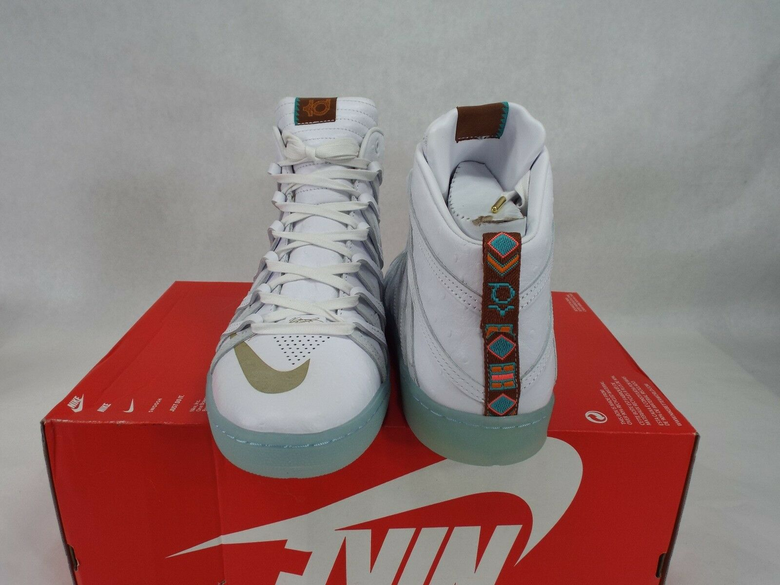 New homme 12 12 12 NIKE KD VIII NSW Lifestyle QS blanc chaussures 140 653871-100 6dfb18