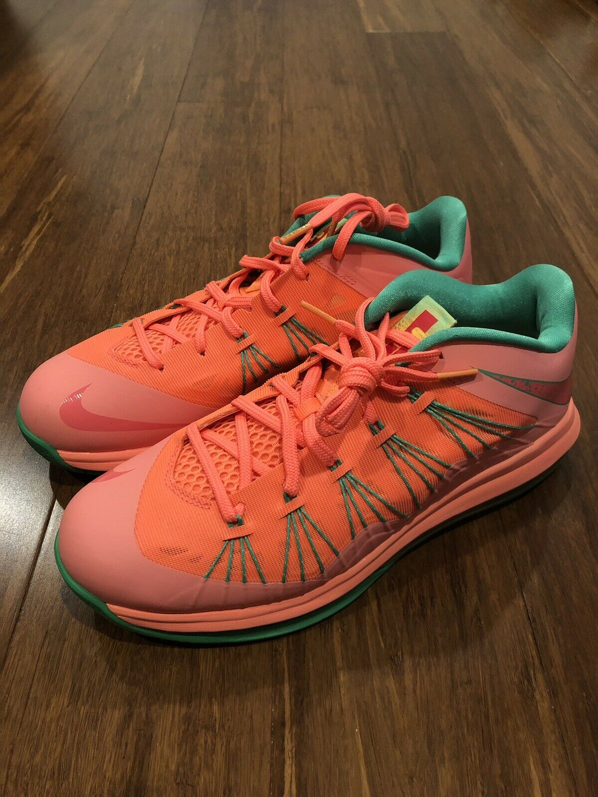 Nike Air Max LeBron X 10 Low Watermelon Basketball Size 10.5