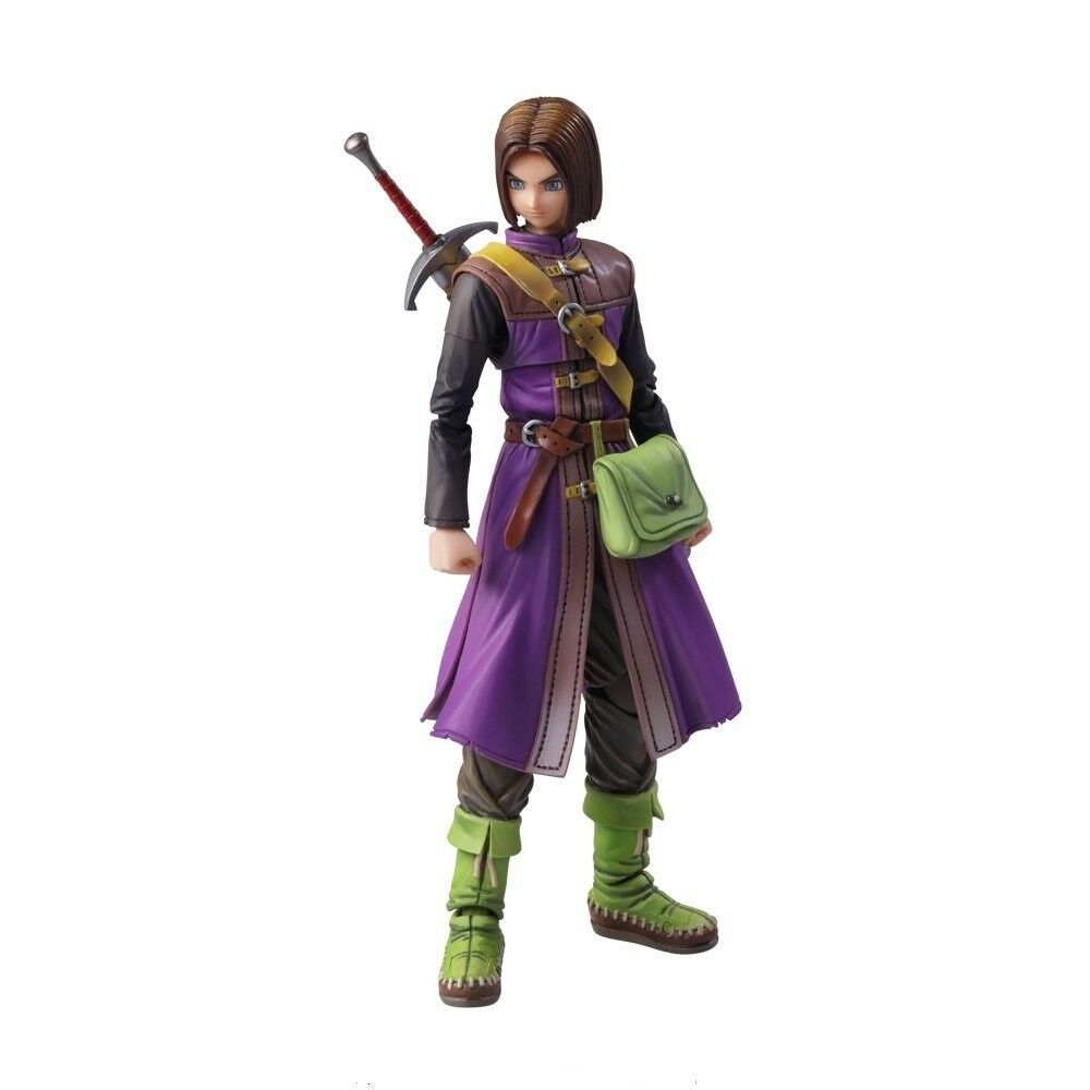Square Enix Dragon Quest XI BRING ARTS The Luminary Action Figure from Japan NEW