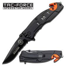 TAC FORCE E.M.T Rescue Folder Spring Assist Knife  FOLDER