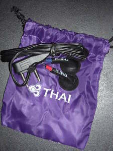 Airline-039-s-Souvenir-Thai-Airways-Earphone
