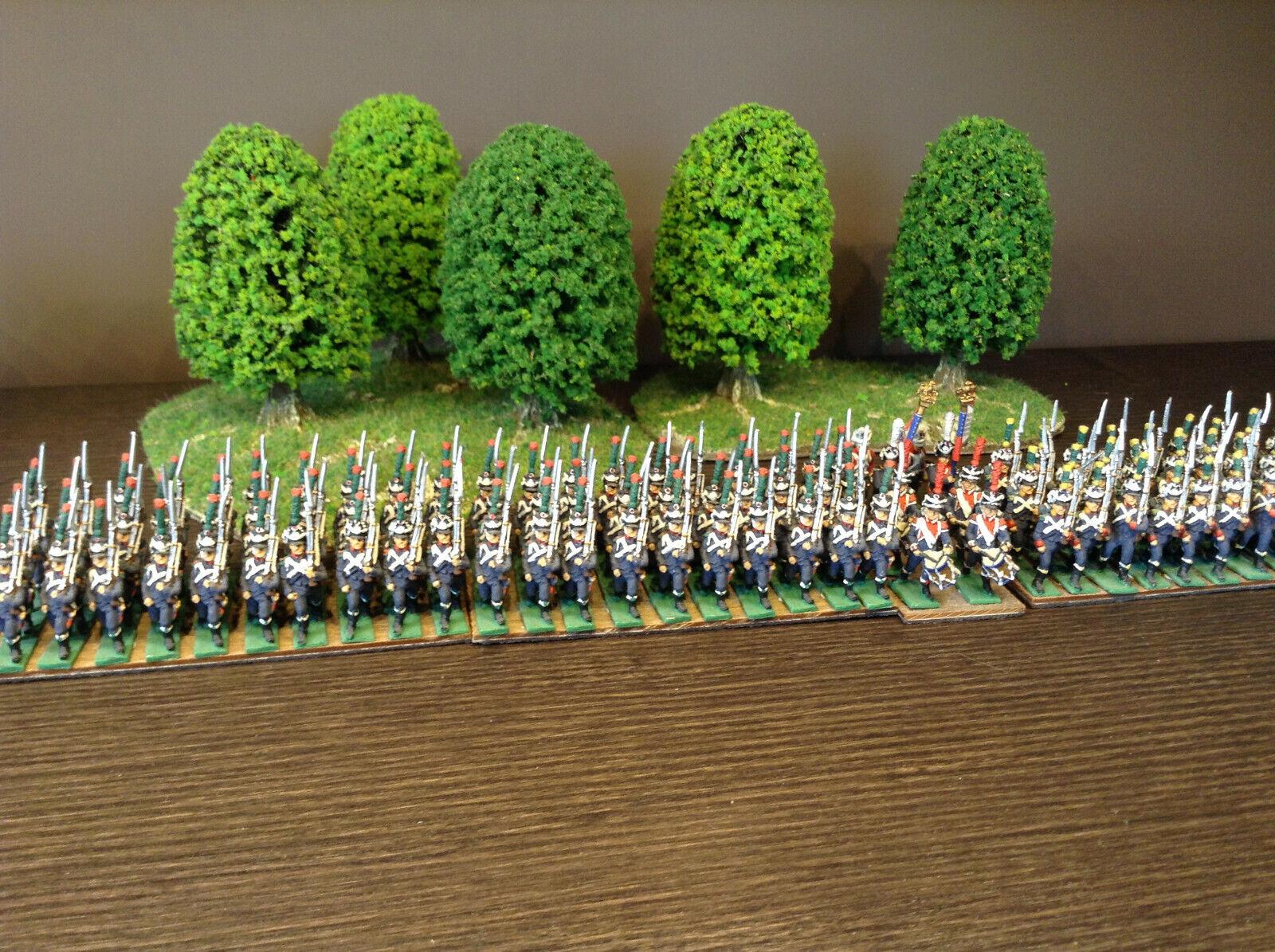 Infanterie légère française AB Figures 15mm peint napoleon 1er empire