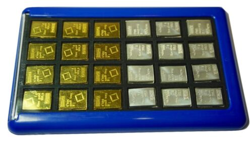 Element Card Gold Bullion Case for Valcambi Combibars Silver Platinum Airtite